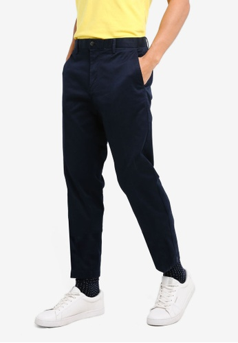 Slim Fit Chinos in Black - 100 Benetton ehTvS