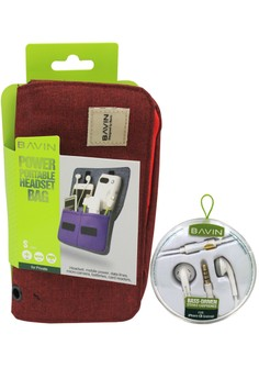 Big Pouch for Mobile Cellphone Accesssories with Free Earphone