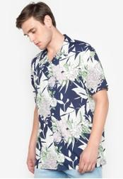 Topman multi Short Sleeve Meadow Floral Shirt TO100AA0ISYIPH_1