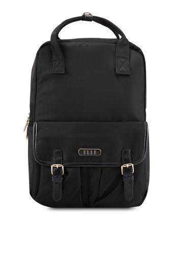 ELLE black Breverly Backpack EL900AC0SFCQMY_1