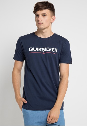 Quiksilver multi and navy As Wordmark T-Shirt 0A21DAA17BE6B7GS_1