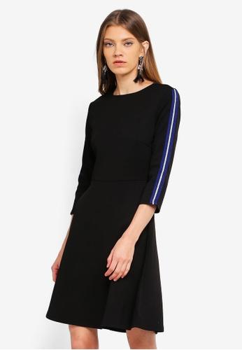 ONLY black Aruna Tape 3/4 Dress FC723AA937FABDGS_1