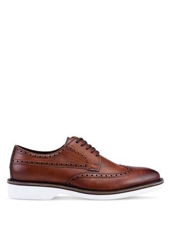 ALDO brown Lovadoclya Smart Casual Shoes CBC42SH458093FGS_1