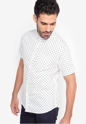 85c360346b3b7 Shop Chase Fashion Printed With Pocket Shirt Online on ZALORA Philippines