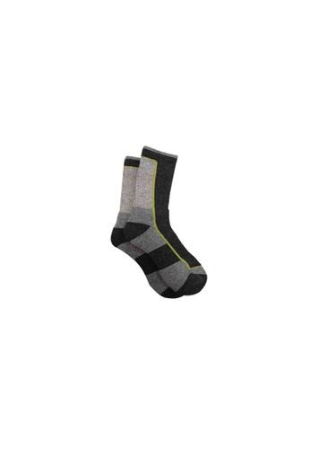 Universal Traveller black Universal Traveller Unisex Wool Tech Socks - SKW 9247 27946AABA846FAGS_1