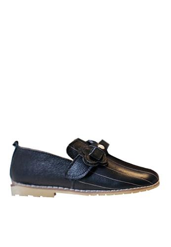 Twenty Eight Shoes 黑色 VANSA 時尚真皮鞋   VSK-F719 FF9DCKS2E1CB5FGS_1
