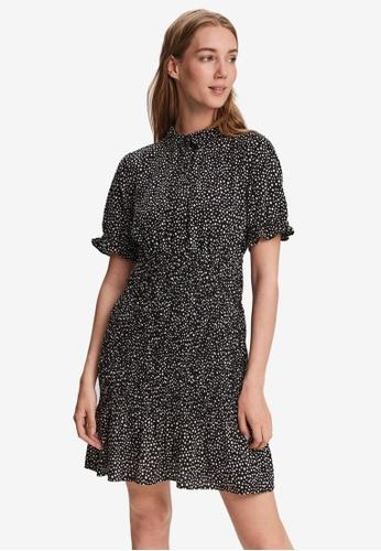 Vero Moda black Smock Mini Dress F6BB3AA9573FCCGS_1