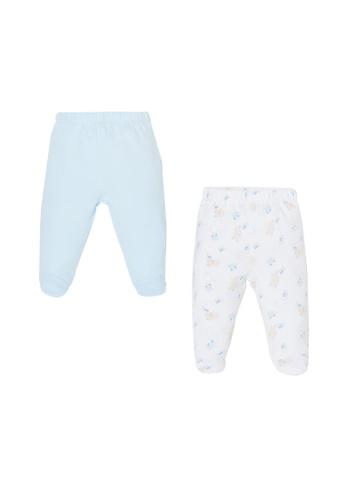 OVS blue Two-Pack Feet And Pattern Leggings CC980KAEE6E89AGS_1