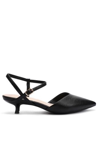 Twenty Eight Shoes 尖頭皮革中踭鞋395-9 C669ESH5DEDB5FGS_1