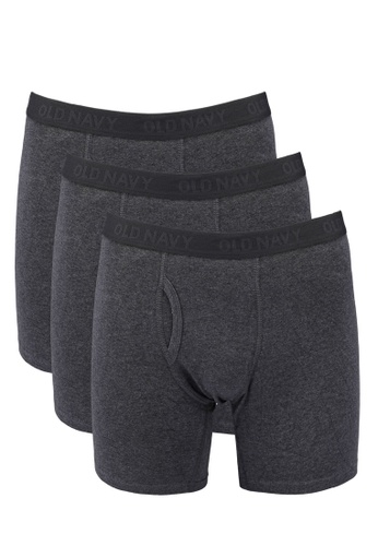 Old Navy grey 3 Pack Boxer Briefs 0C928USED56BEFGS_1