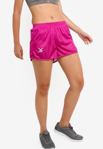 FBT pink Running Shorts Straight Cut 64810AA4F95019GS_1