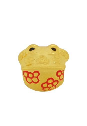 LITZ gold [Free Bracelet] LITZ 999 (24K) Gold Lucky Cat Charm EPC0681 776B6AC06AF9AAGS_1