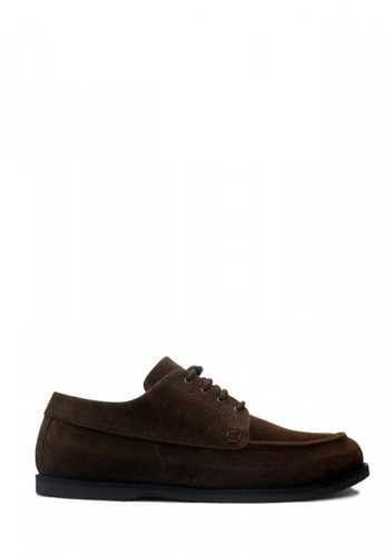 D-Island brown D-Island Shoes Loafers Elegant Comfort Leather Dark Brown 65B30SH7399900GS_1