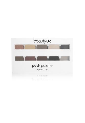 Beauty UK Posh Palette - Large Eye Palette No.2 Masquerade BE783BE54DPDSG_1