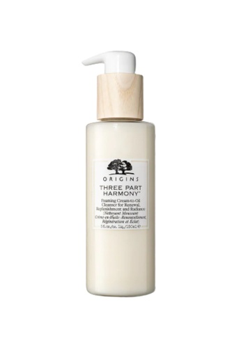ORIGINS Origins THREE PART HARMONY Foaming Cream-To-Oil Cleanser For Renewal, Replenishment And Radiance 72400BEAE022C1GS_1