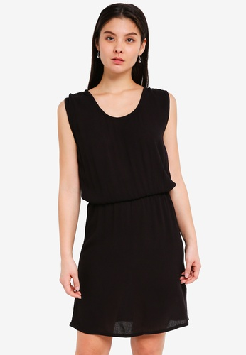 ICHI black Marrakech Dress 51E3AAAC2C55F9GS_1