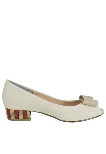 Jacque beige Heidi Beige Low Heels JA262SH63MGMMY_1