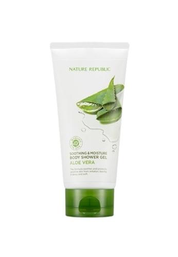 NATURE REPUBLIC Soothing & Moisture Aloe Vera Body Shower Gel AE28FBEA04BA80GS_1