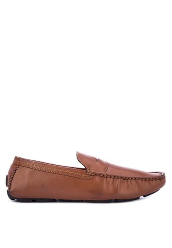 Mendrez brown Mario Loafers & Moccasins 3E0B0SHE76D7A4GS_1