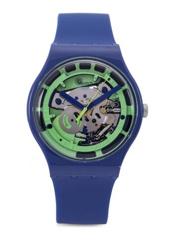 Swatch blue Green Anatomy Watch CC060AC30EAFA2GS_1
