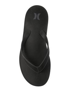 9d2f0b4f490aba hurley black One   Only Sandal ECF5CSH8C67016GS 1