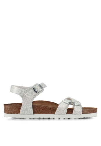 Birkenstock white Kumba Magic Snake  Sandals 48971SH113A056GS_1