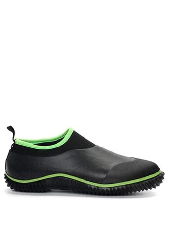 Twenty Eight Shoes black Edgy Design Rain Shoes VM30 A6CD3SHF88404FGS_1