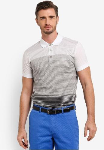 Boss Green grey Paddy 3 Polo Shirt BO516AA0RICVMY_1