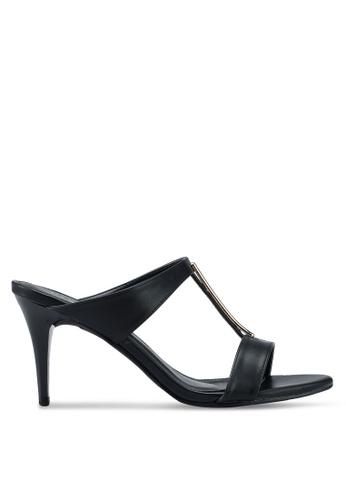 VINCCI black Slip On Heels 5BFE5SHE4E2B09GS_1