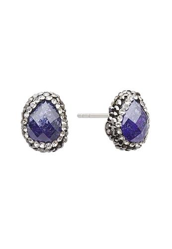 Fervor Montreal purple Fervor Montreal-Druzy Earrings Pear 348D4AC0DED30FGS_1