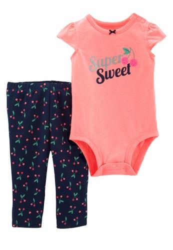 6 M 9 M Pants 24 M Carter/'s 3 Piece Baby Girl Play Set Top Bodysuit NWT 3 M