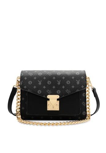 PLAYBOY BUNNY 黑色 Women's Sling Bag / Shoulder Bag / Crossbody Bag 3D79EAC9A66345GS_1