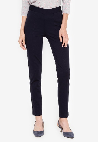 MARKS & SPENCER navy Pull On Treggings DCD88AA36B3B30GS_1