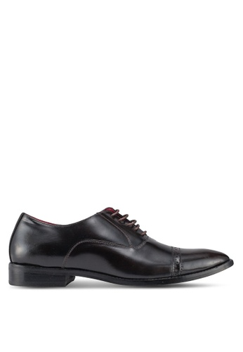 Acuto brown Leather Business Shoes E2F25SH536B7B1GS_1