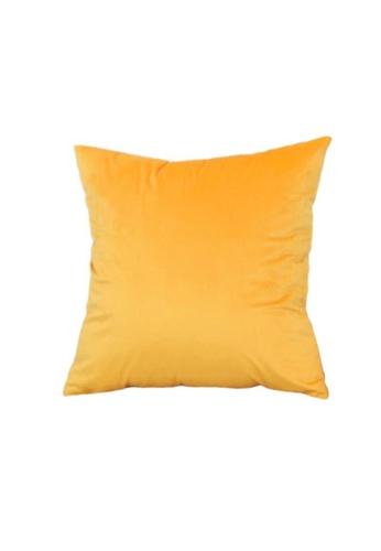 DILAS HOME Basic Velvet Cushion Cover (Orange) AB5F1HL1EEF08DGS_1