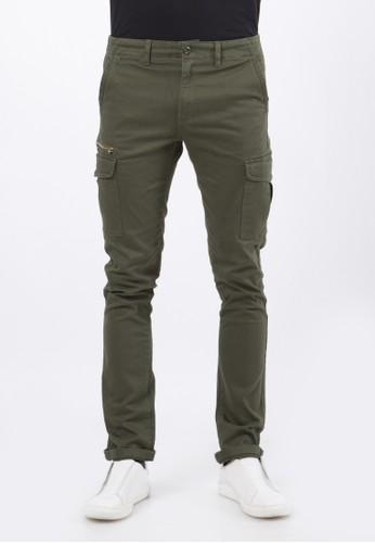 Wrangler green JADEN LONG PANTS C01P20 04454AA7A0CC79GS_1