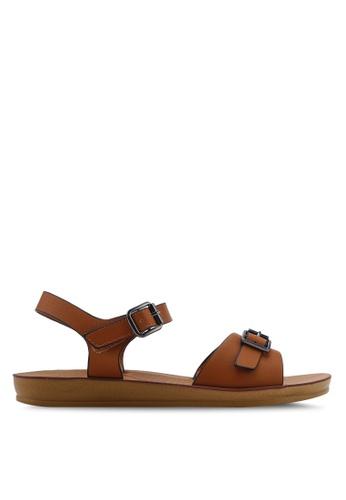 NOVENI brown Slingback Sandals 50372SHA0271C3GS_1