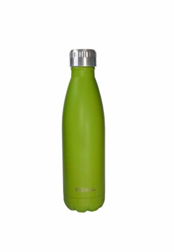 Slique green Insulated Stainless Steel Vaccum Water Bottle/Tumbler 500ml (Matte Finish) A7A1DHL158530BGS_1