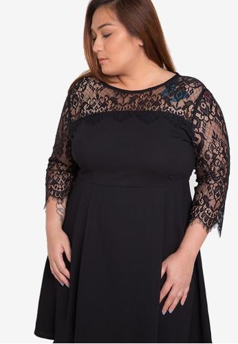 Maldita X black Plus Size Lou Lace Dress MA587AA67YJGPH_1