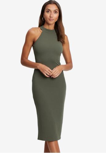 Tussah green Tahlia Midi Dress 8D553AA22AEFE1GS_1
