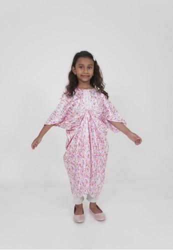 FIYORA pink Zahra Party Girl Kaftan FE113KA771FD74GS_1