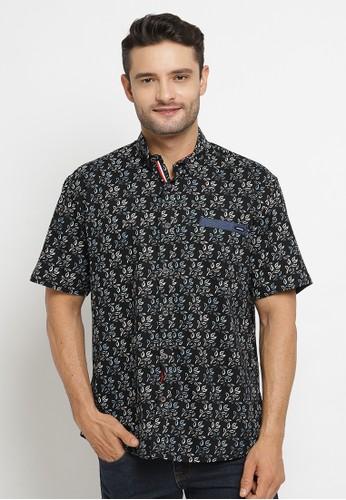 Poshboy navy Poshboy Shirt Danzel SF-6ME-XIN C4863AA8BC5596GS_1