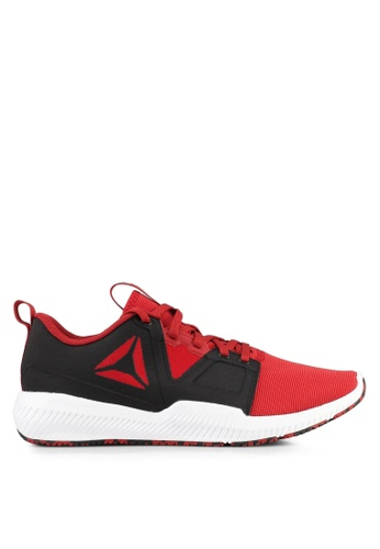 Reebok black and white and red Reebok Hydrorush Trainer Shoes RE691SH0SW00MY_1