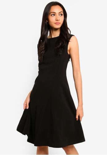FORCAST black Rawin A-Line Dress EFCCBAAA99445AGS_1