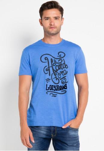 Lois Jeans blue Short Sleeve T-Shirt LO391AA0VPCCID_1