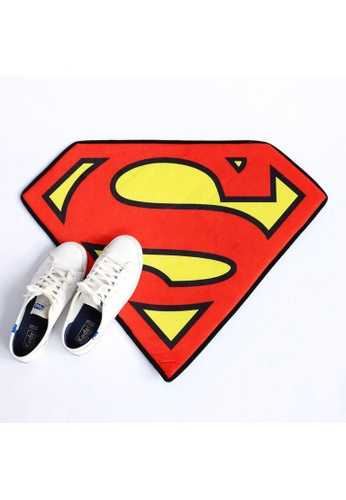 DC Comics Superman Logo Doormat 2CC04HLEF7B859GS_1