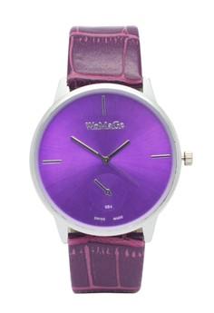Sandra Leather Strap Watch
