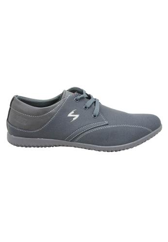 midzone grey EXO SCORPION Fashion Sneakers SC378SH02PJPMY_1