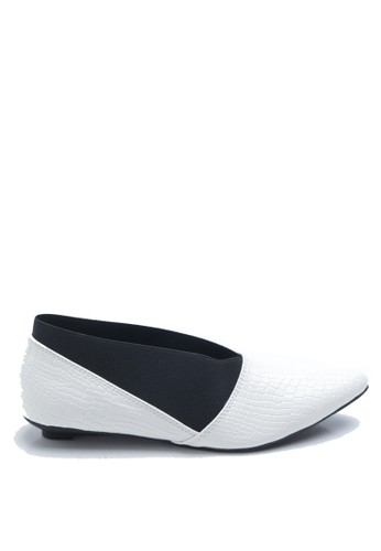 Dr. Kevin white Dr. Kevin Women Flat Shoes Ballerina 43208 - White DR982SH47FUYID_1