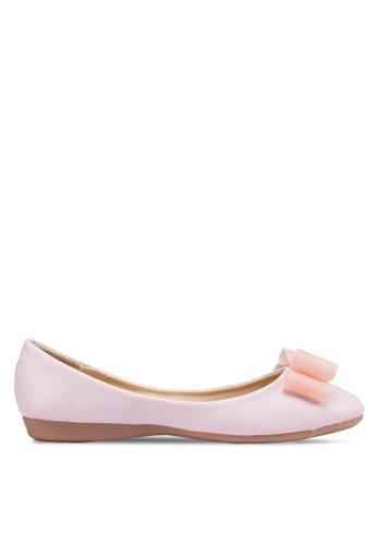 Te Chi-Chi pink Flats With Ribbon TE125SH18MSRMY_1